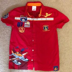 Disney's Planes Fire & Rescue collared shirt